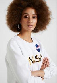 Alpha Industries - NASA - Sweater - white/gold - 3