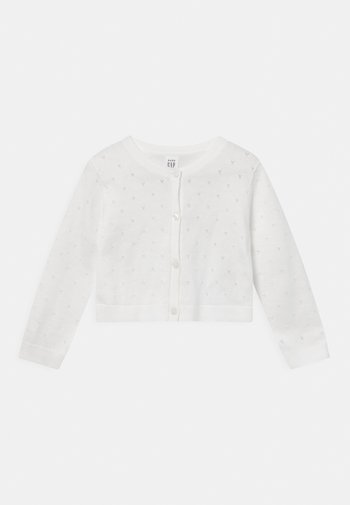 POINTELLE  - Cardigan - new off white