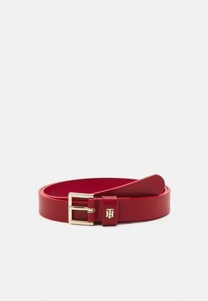 SQUARE BUCKLE - Belt - red