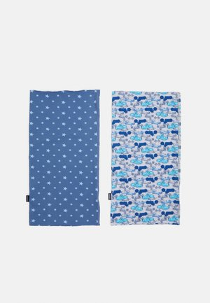 KIDS MULTIFUNKTIONSTUCH 2 PACK UNISEX - Écharpe tube - blue/grey