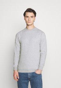 Denim Project - BASIC CREW - Sweatshirt - grey - 0