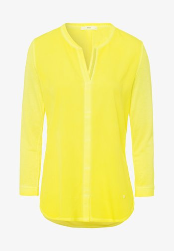 STYLE CLARISSA - Long sleeved top - yellow