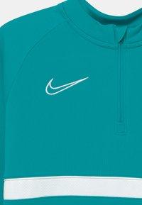 Nike Performance - ACADEMY DRILL UNISEX - Sports shirt - aquamarine/white - 2