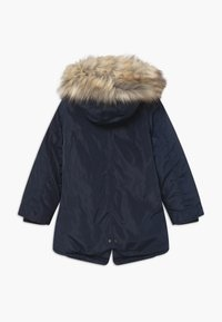 Lemon Beret - SMALL GIRLS - Winter coat - navy blazer - 1