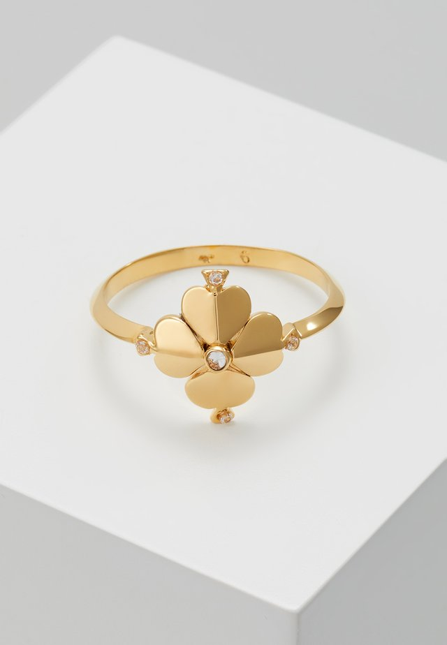 LEGACY LOGO FLOWER - Ringe - clear gold-coloured