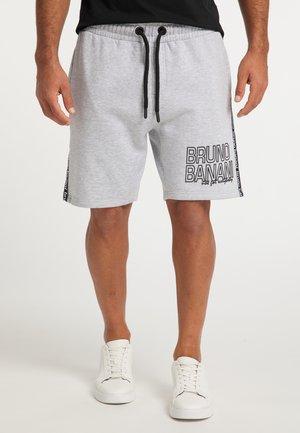Shorts - grau melange