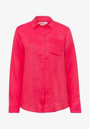 VICTORIA - Button-down blouse - papaya
