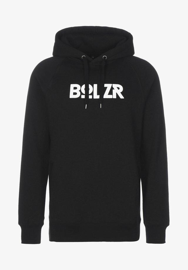 Sweatshirt - schwarz / weiß
