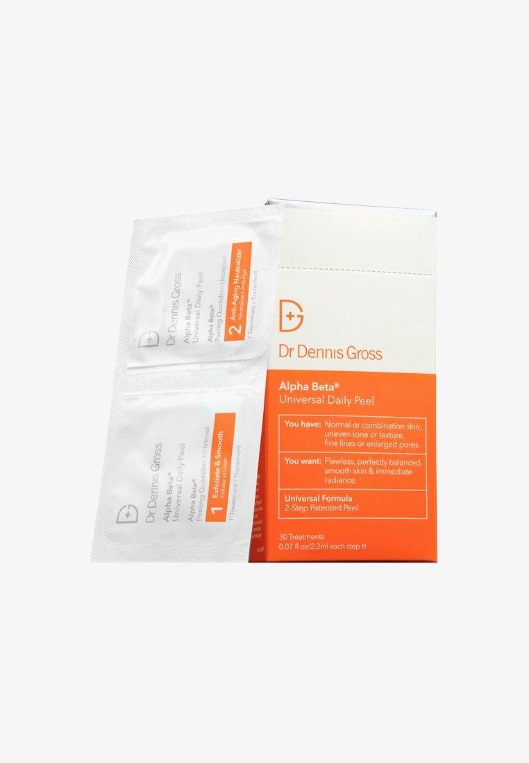 Dr Dennis Gross - ALPHA BETA® PEEL UNIVERSAL FORMULA 30 PACKETTES - Face scrub - neutral