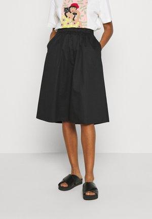VMJULIE CALF SKIRT - A-line skirt - black