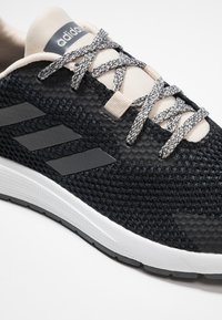 adidas Performance - SOORAJ VERUM CLOUDFOAM RUNNING SHOES - Hardloopschoenen neutraal - core black/grey five - 5