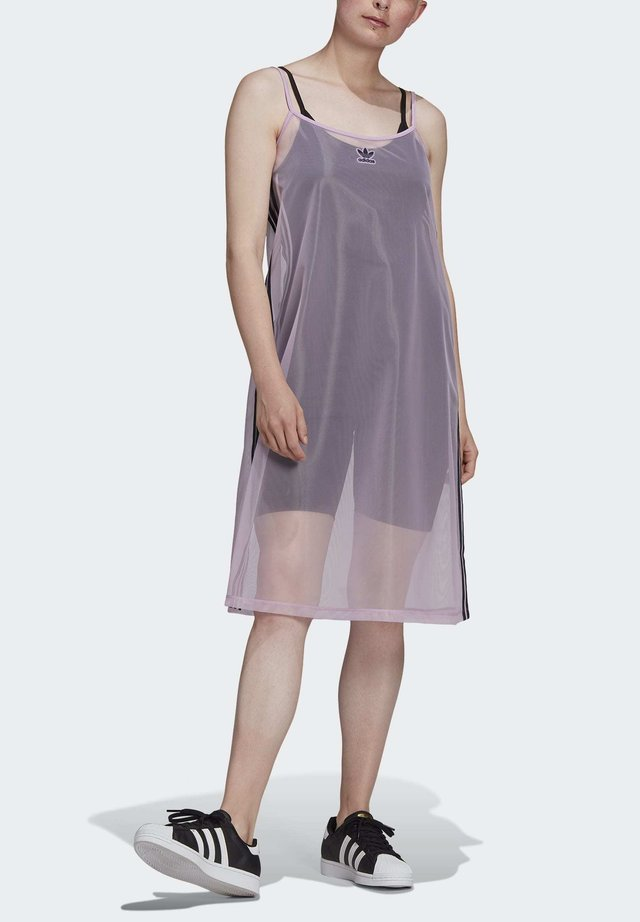MESH DRESS - Sports dress - purple
