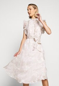Lauren Ralph Lauren - CRINKLE DRESS - Shirt dress - mascarpone cream - 3