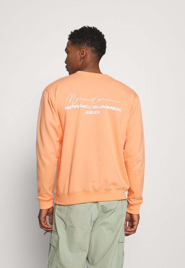 ESSENTIAL REGULAR UNISEX - Sweatshirt - peach