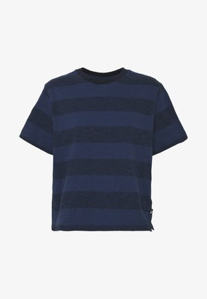 WOMEN'S STRIPE - T-shirt med print - urban navy