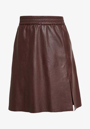 MELVIN SKIRT - Áčková sukně - port royale