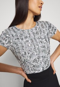 Lace & Beads - NINETTE - Bluse - teal - 5
