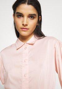 DESIGNERS REMIX - MELA - Button-down blouse - peach - 4
