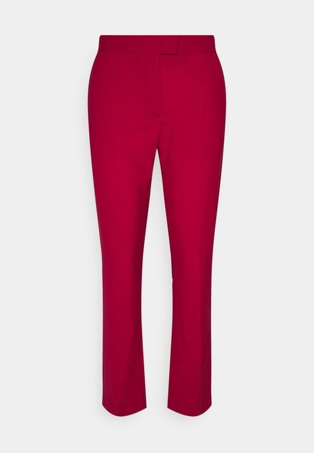 WOMENS TROUSERS - Trousers - rot