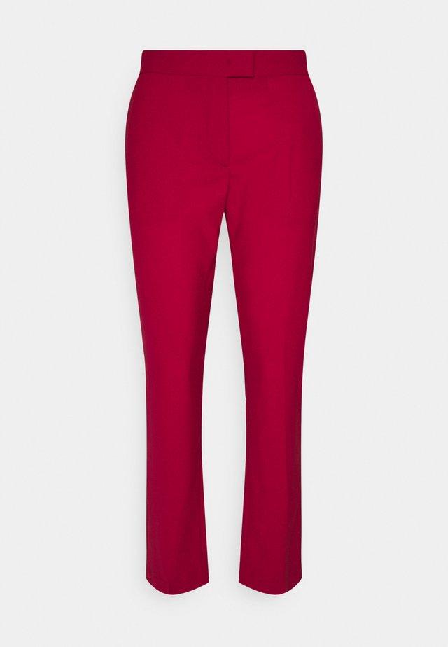 WOMENS TROUSERS - Spodnie materiałowe - rot