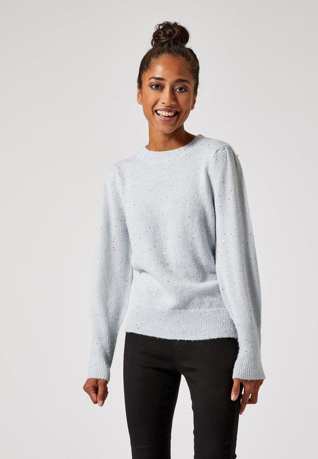 SEQUIN - Sweter - blue