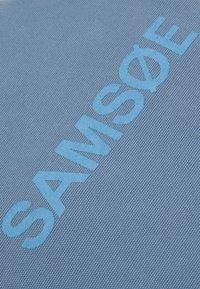 Samsøe Samsøe - FRINKA SHOPPER  - Tote bag - china blue - 4