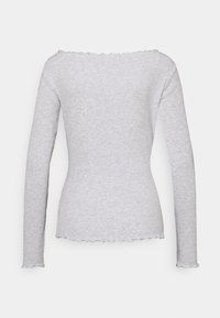 Anna Field - Long sleeved top - mottled light grey - 1