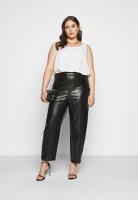 Even&Odd Curvy - Bukse - black - 1