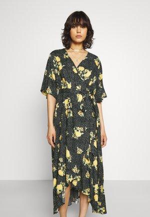 WRAP DRESS - Day dress - yellow