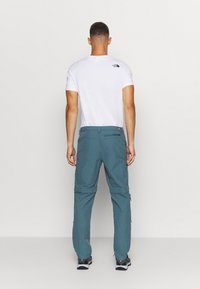 The North Face - EXPLORATION CONVERTIBLE PANT - Outdoor trousers - mallard blue - 2