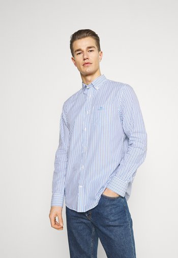 REGULAR STRIPE - Shirt - clear blue