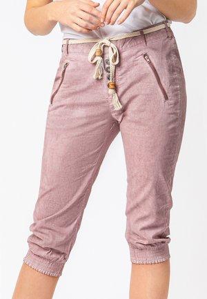 MIT ZIPPER - Shorts - light rose