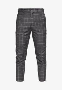New Look - GRID CROP - Kalhoty - light grey - 3