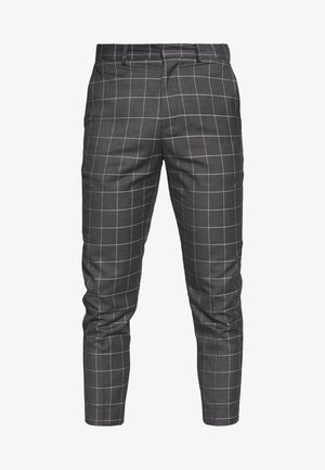 GRID CROP - Kalhoty - light grey