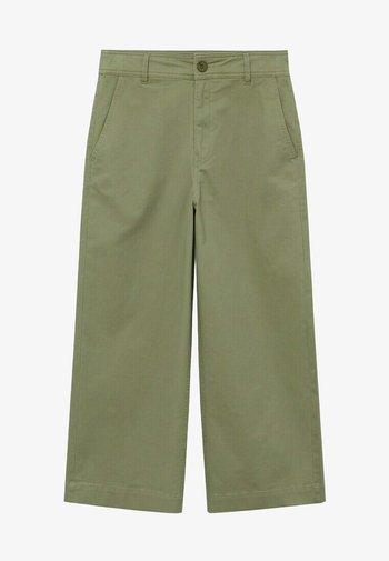 Trousers - kaki