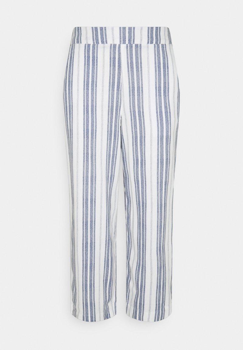 Springfield - WEBPLUS CULOTTE - Trousers - dark blue