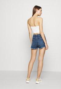 Mavi - ROSIE - Denim shorts - dark blue - 2