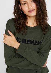 Element - LOGO CREW - Sweatshirt - olive drab - 4