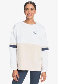 Roxy - WEEKEND VIBRATIONS - Sweatshirt - bright white - 0