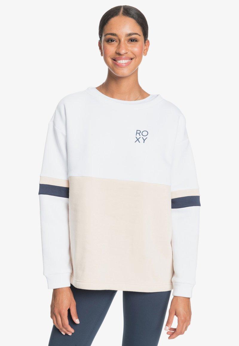 Roxy - WEEKEND VIBRATIONS - Sweatshirt - bright white