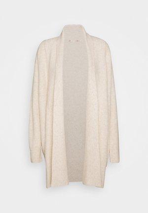 CARDIGAN WIDE - Cardigan - beige
