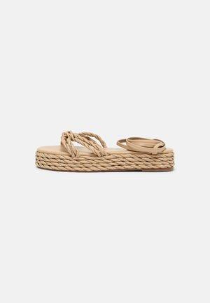 REESE - Sandales à plateforme - nude