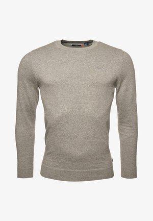 Jumper - jersey grey marl