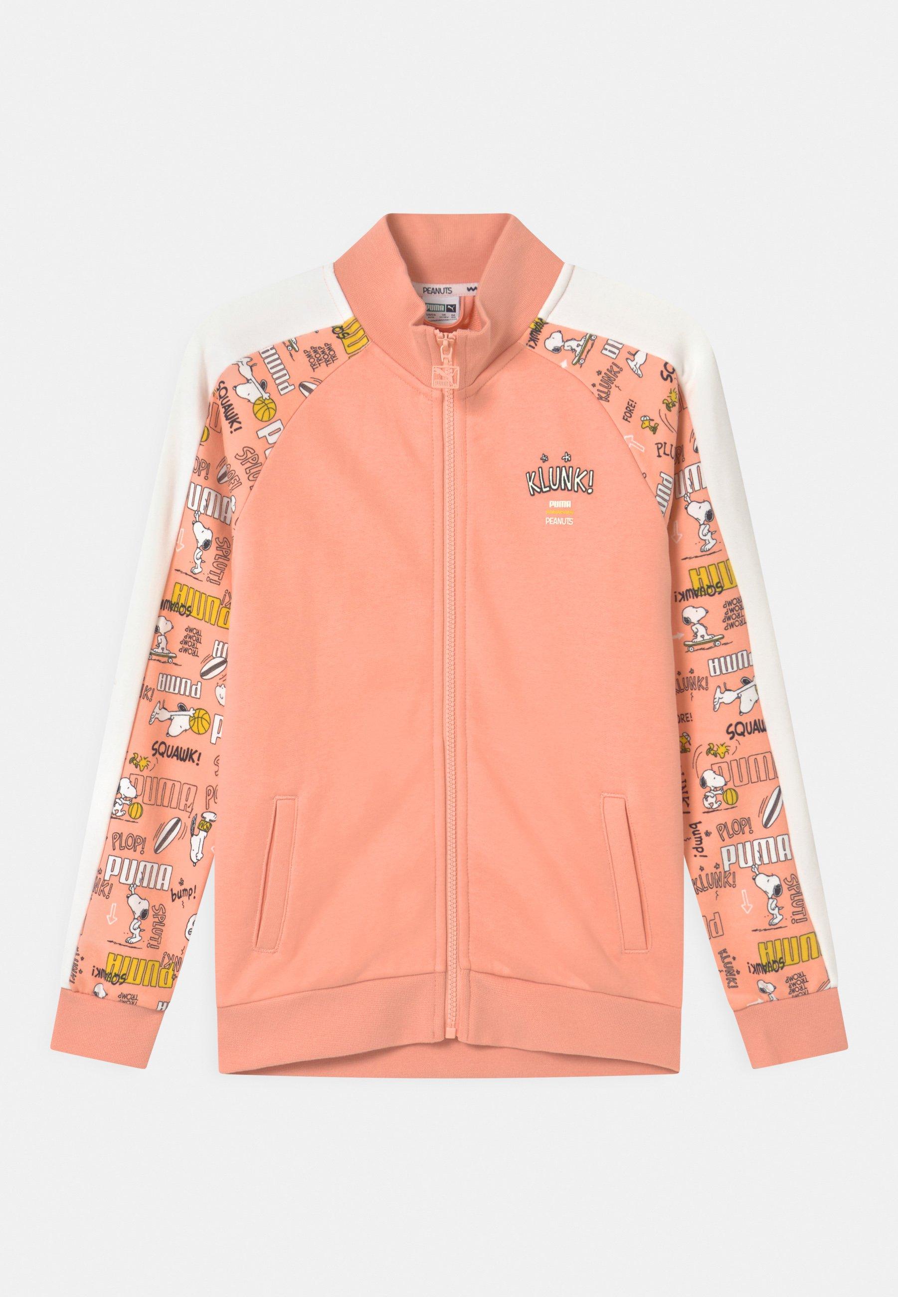 Kids PUMA X PEANUTS UNISEX - Zip-up sweatshirt