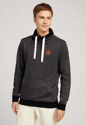 Sweatshirt - offwhite black grindle