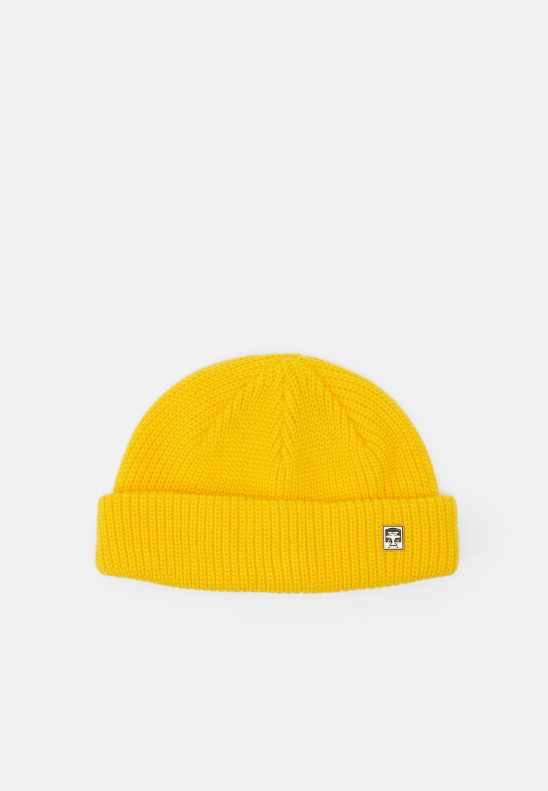 Obey Clothing - MICRO BEANIE UNISEX - Beanie - sulpur yellow