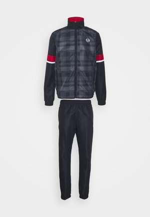 ALLAN TRACKSUIT SET - Survêtement - night sky/tango red