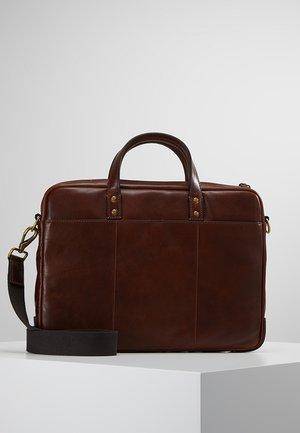 HASKELL BRIEF - Briefcase - cognac