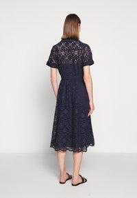J.CREW - MAHALIA DRESS - Košilové šaty - navy - 2