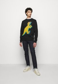 PS Paul Smith - BIG DINO - Sweatshirt - black - 1